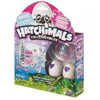 Hatchimals zvířátka z říše divů-2 vajíčka, figurka, pozadí
