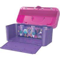 Spin Master Hatchimals mini pixies bábiky 4ks v kufríku Fialový 2