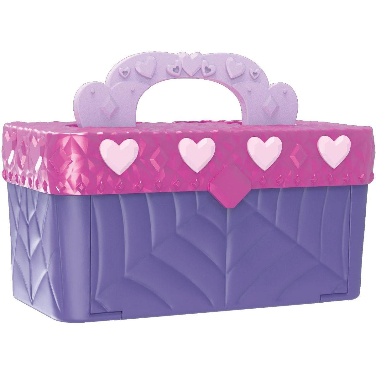 Spin Master Hatchimals mini pixies bábiky 4ks v kufríku Fialový