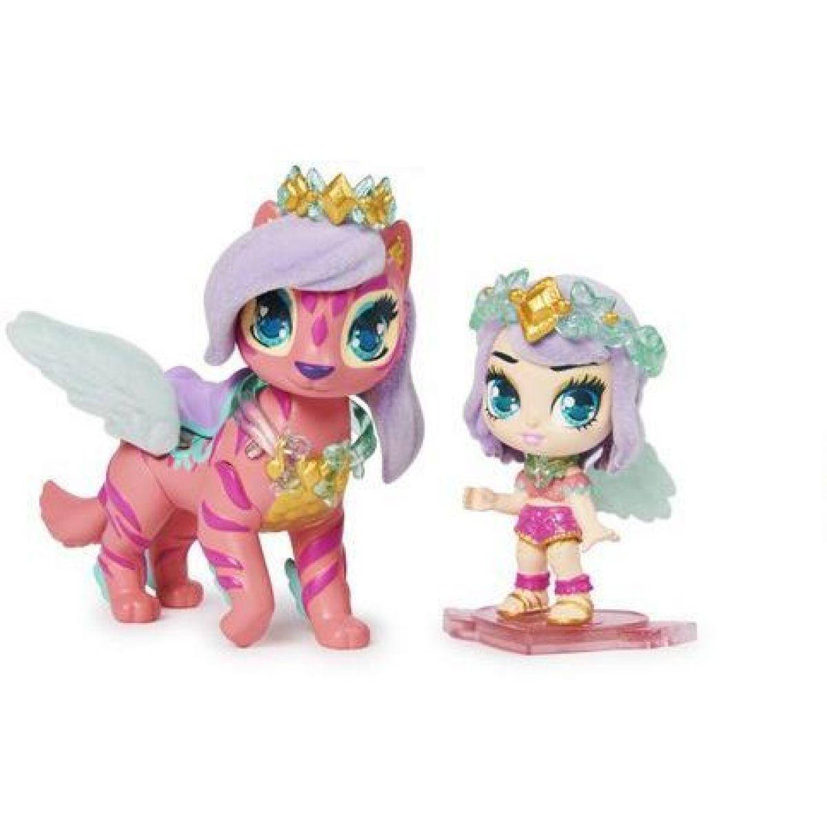 Spin Master Hatchimals pixies bábiky sa zvieratkom a doplnky oranžové-ružová krídla