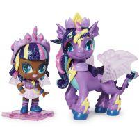 Spin Master Hatchimals pixies bábiky sa zvieratkom a doplnky fialovej-tyrkysová krídla