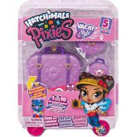 Spin Master Hatchimals pixies panenky v kufru fialová