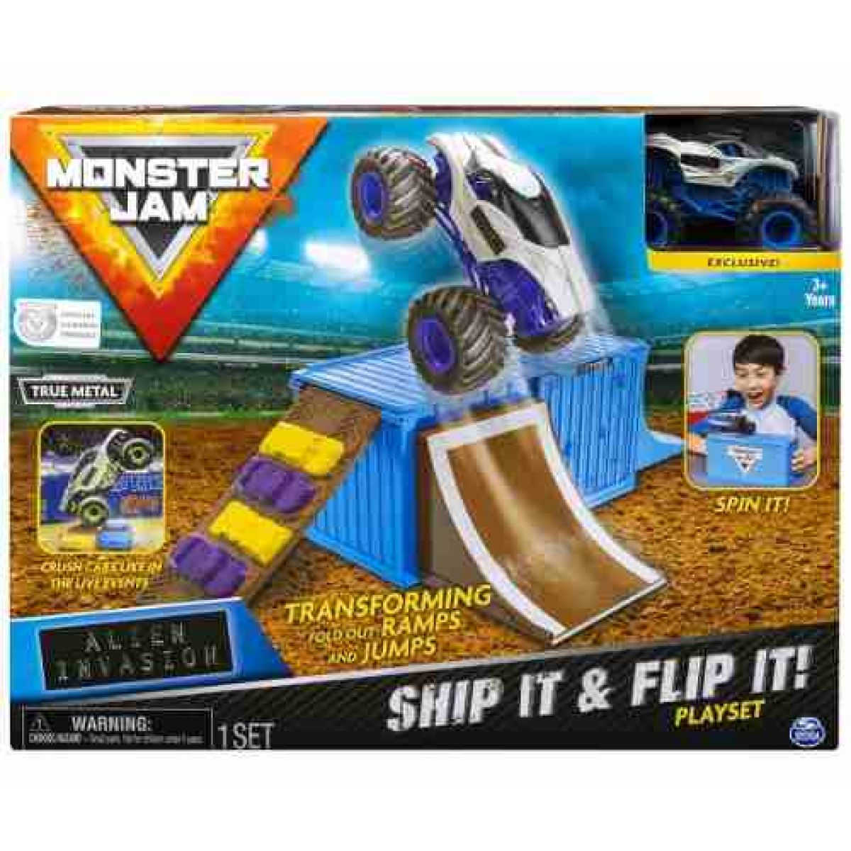Spin Master Monster Jam 1:64 Hracia sada Alien Invasion