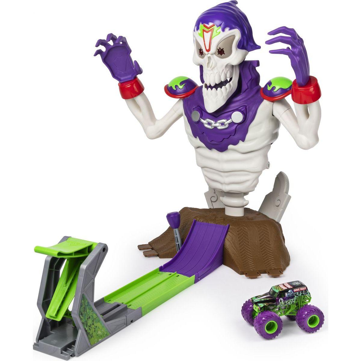 Monster Jam hracia sada Kostlivec
