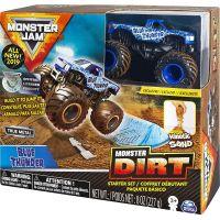 Spin Master Monster Jam základní sada s tekutým pískem Blue Thunder