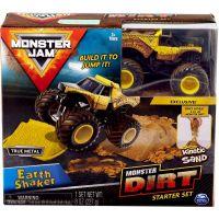 Spin Master Monster Jam základní sada s tekutým pískem Earth Shaker