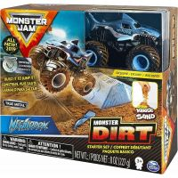 Spin Master Monster Jam základní sada s tekutým pískem Megalodon