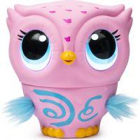 Spin Master Owleez Létající Sova růžová
