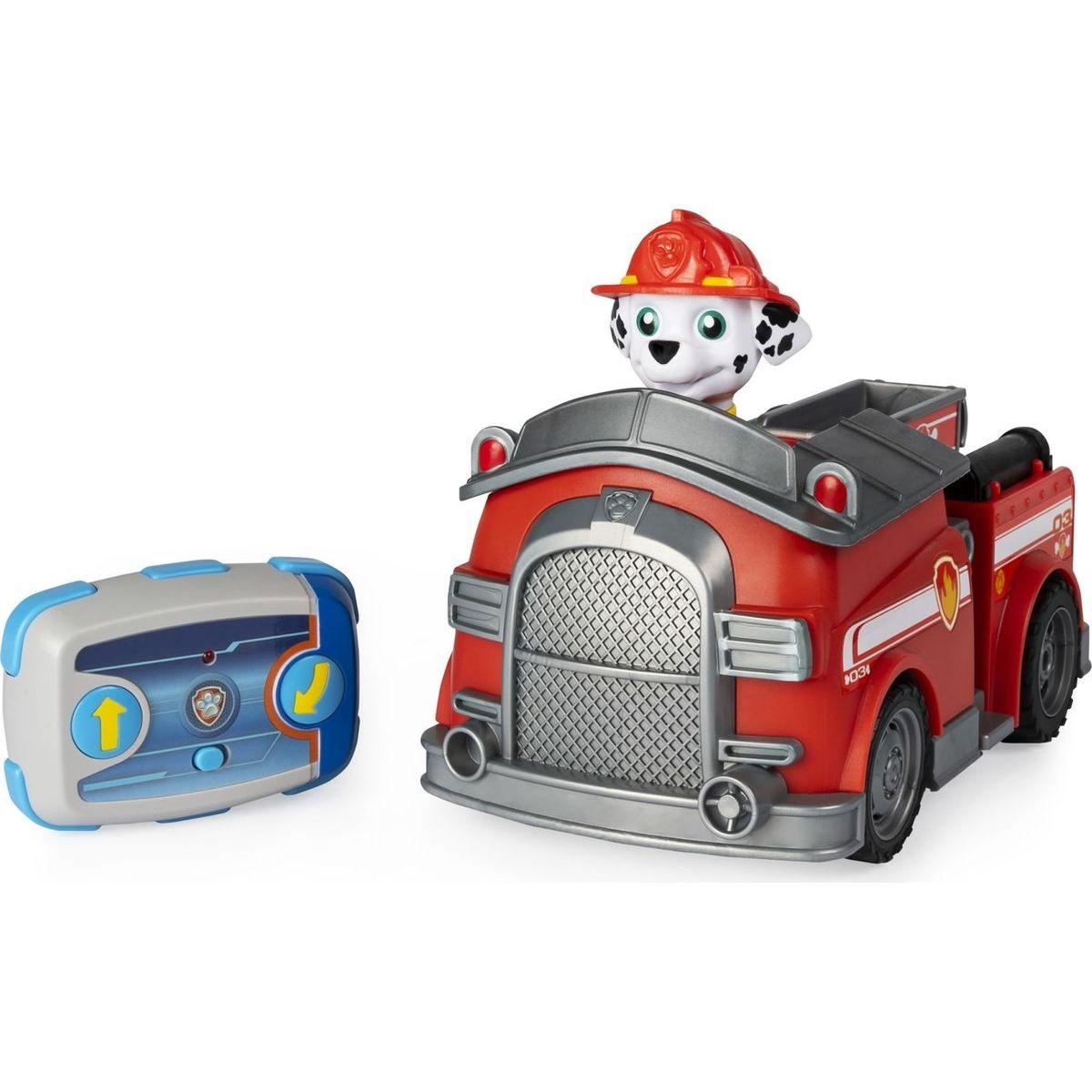 Spin Master Paw Patrol autíčko s Marshalom na diaľkové ovládanie