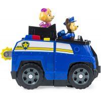 Spin Master Paw Patrol dve záchranné vozidlá v jednom Chase 6