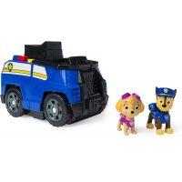 Spin Master Paw Patrol dve záchranné vozidlá v jednom Chase 2