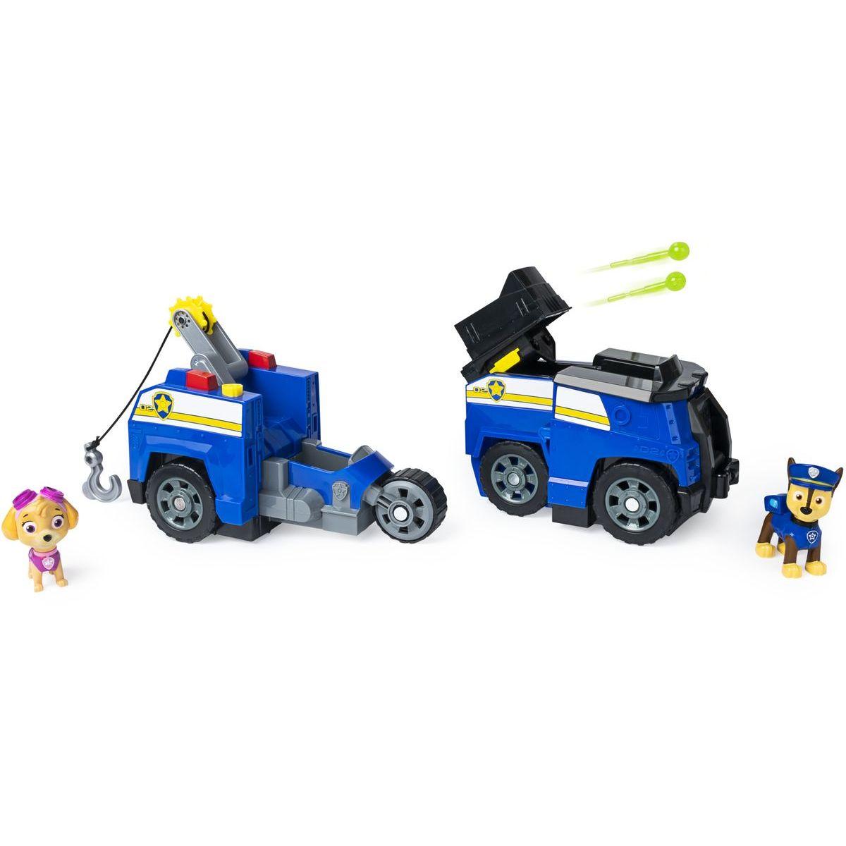 Spin Master Paw Patrol dve záchranné vozidlá v jednom Chase