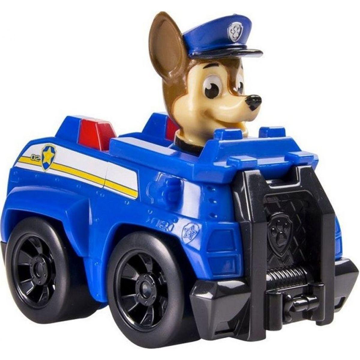 Spin Master Paw Patrol Malá vozidlá s figúrkou Chase Policajné vozidlo