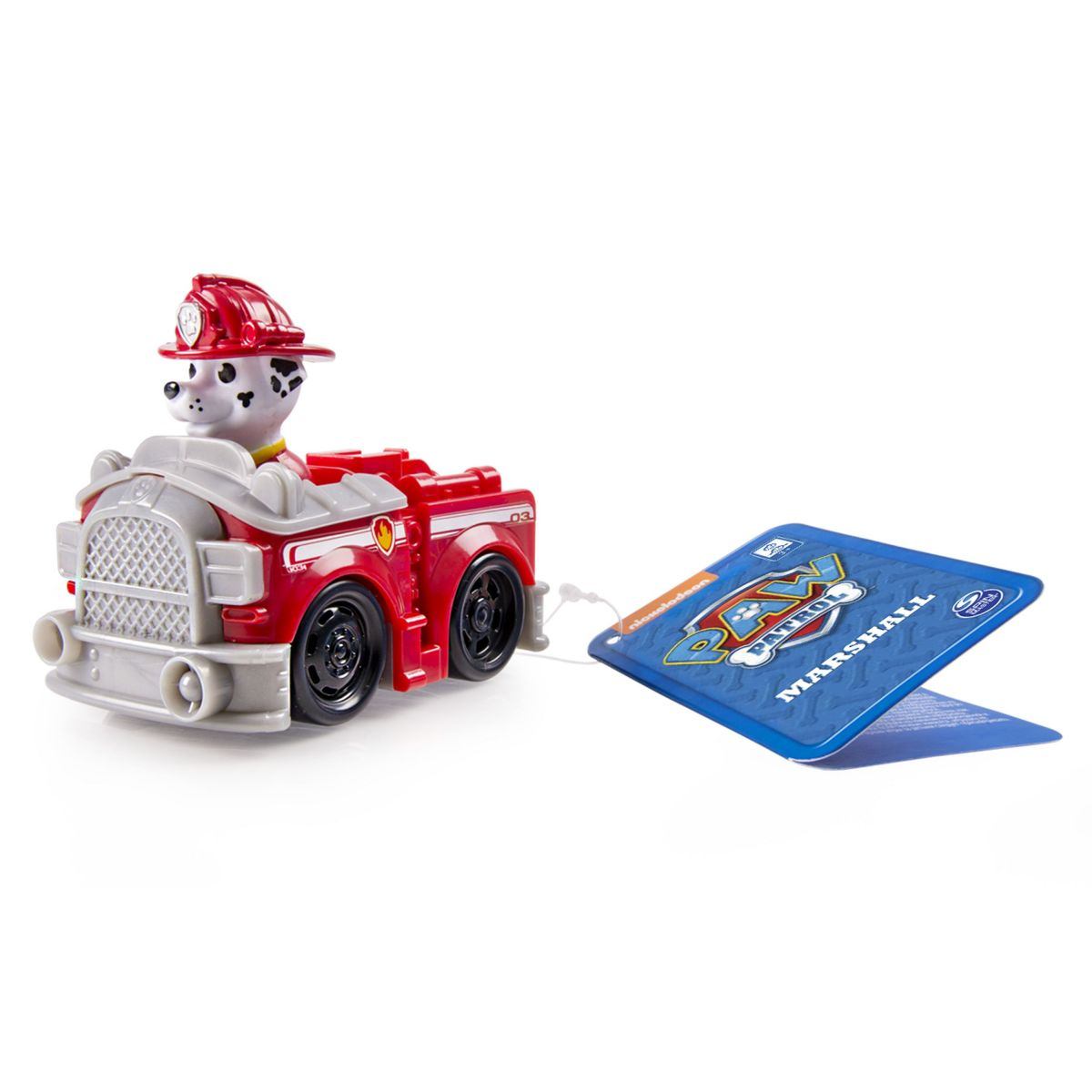 Spin Master Paw Patrol Malá vozidlá s figúrkou Marshall hasičský voz