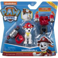 Spin Master Paw Patrol Mini Air Rescue Marshall Pull Back Pup 4