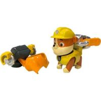 Spin Master Paw Patrol Mini Air Rescue Rubble Pull Back Pup 2