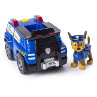 Spin Master Paw Patrol tématické vozidlo Chase solid