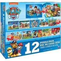 Spin Master Paw Patrol veľké puzzle 12 súborov