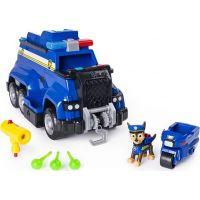Spin Master Paw Patrol Velký Policejní vůz s efekty a motorkou