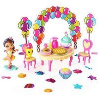 Spin Master Party Popteenies Hracia sada pre párty bábiky Brunetka Ava 2