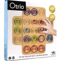Spin Master Společenská hra Marbel otrio - dřevo