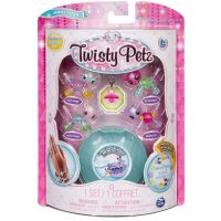 Spin Master Twisty Petz zvířátka a náramky miminka čtyřbalení zelený drahokam 2