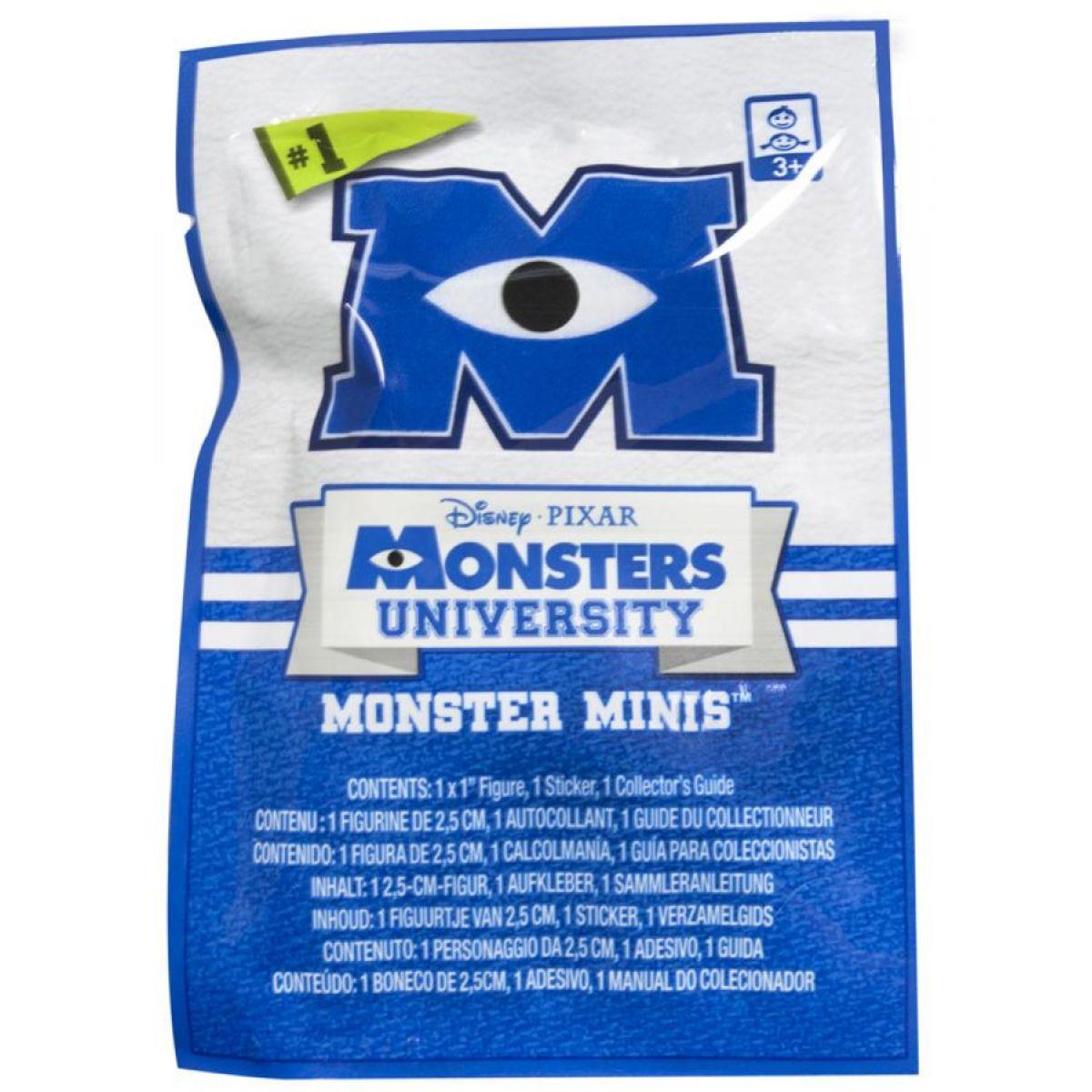 SpinMaster Figurka z filmu Monsters University 2,5 cm v sáčku