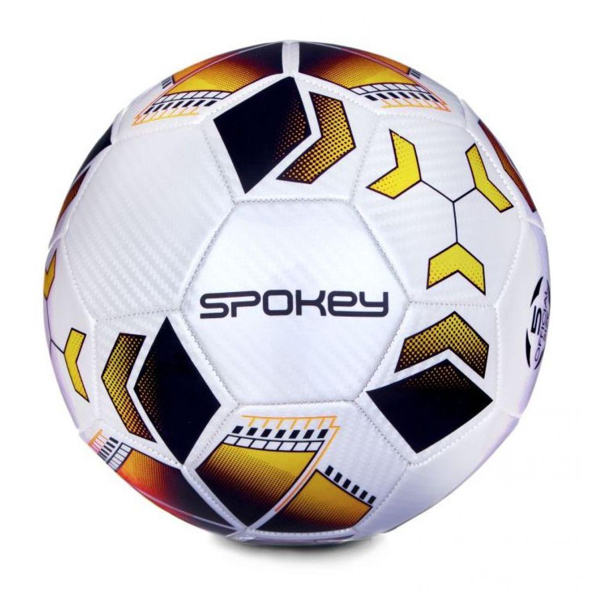 Spokey Agilit futbalová lopta veľkosť 5 čierno-oranžová
