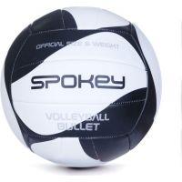 Spokey Bullet Volejbalová lopta čiernobiela veľkosť 5
