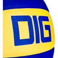 Spokey DIG II Volejbalová lopta modro-žltý vel. 5 5