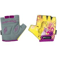 Spokey Giraffe Glove Detské cyklistické rukavice XXS (15,5 cm)