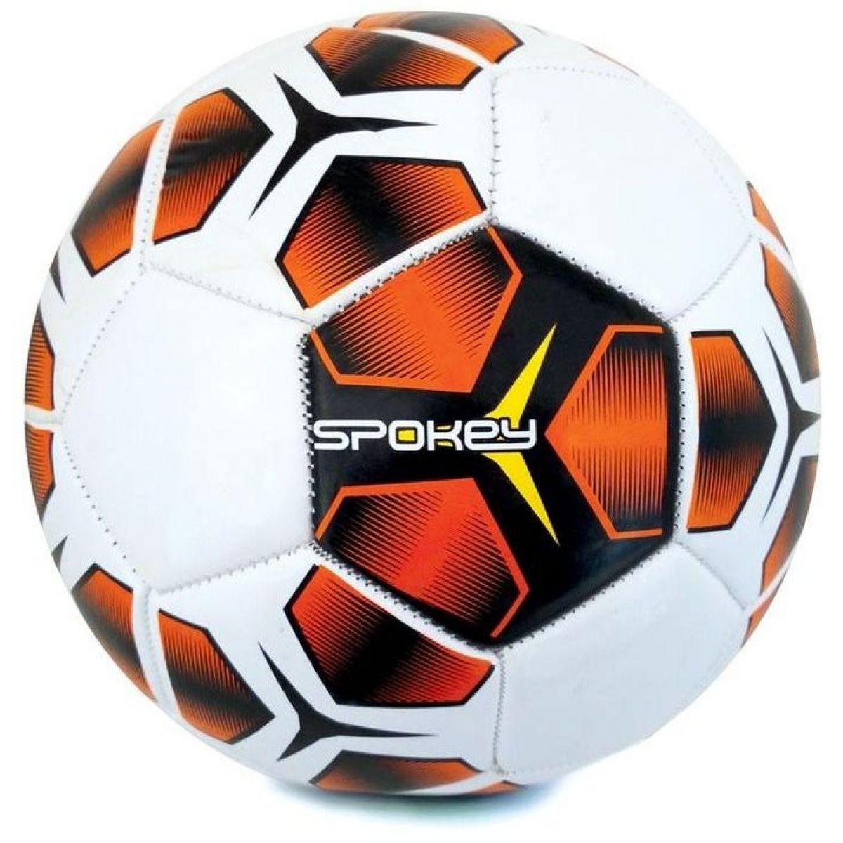 Spokey Haste futbalová lopta veľkosť 5 červenočierna