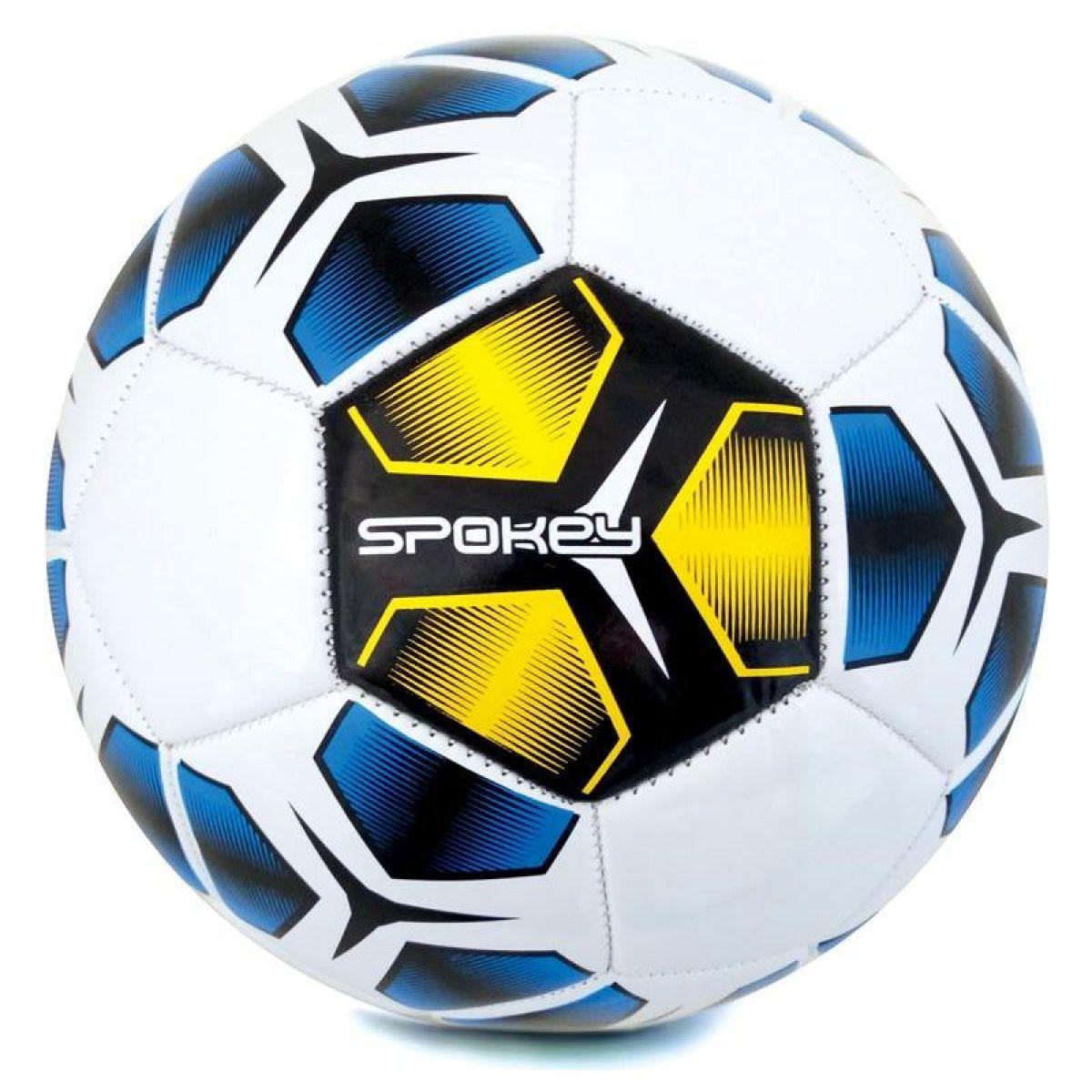 Spokey Haste futbalová lopta veľkosť 5 žltomodrý