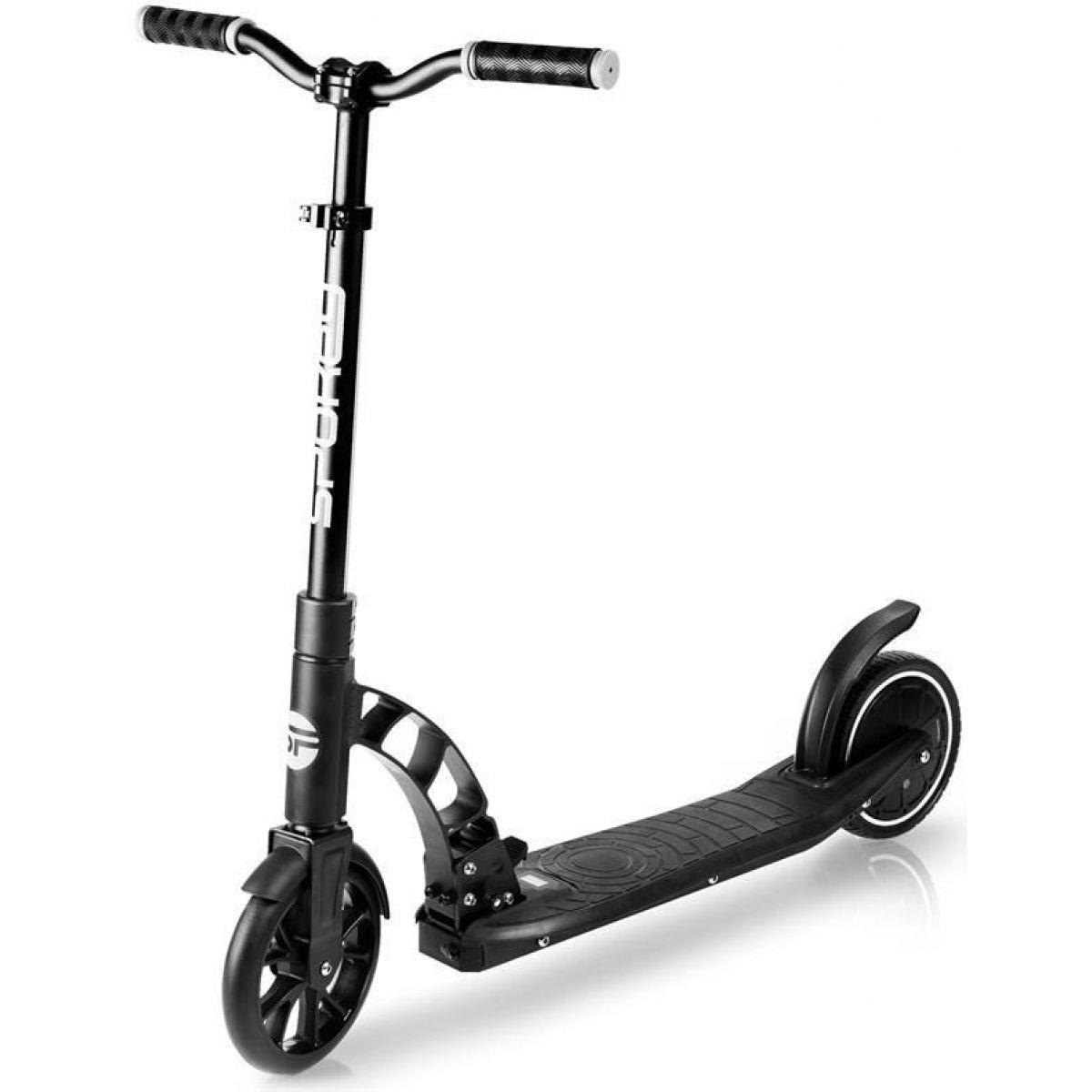Spokey Mobius Elektrická kolobežka čierna kolieska 8 ' do 100 kg. nožné ovládanie
