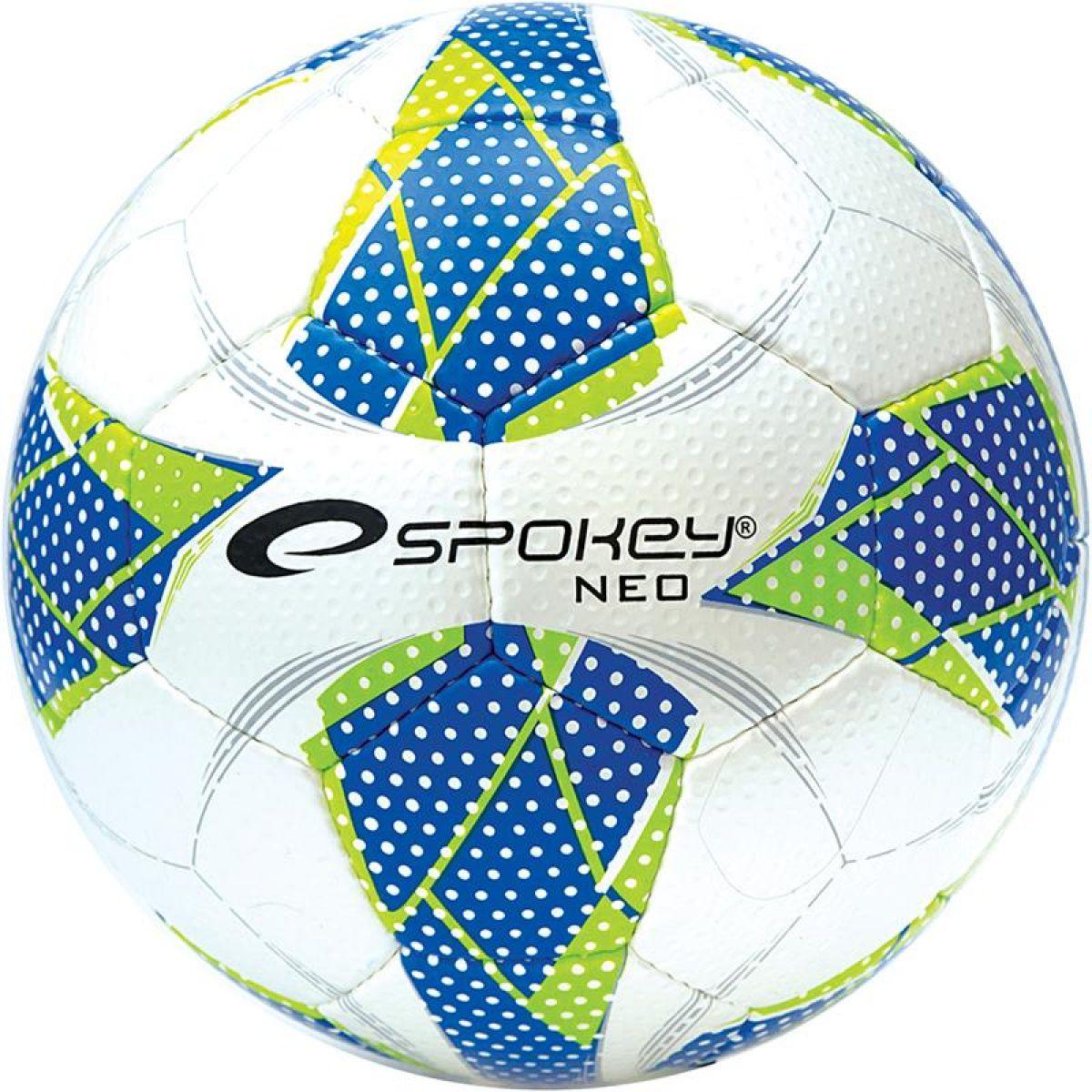 Spokey Neo Futsal II Lopta na halový fotbal Modrý vzor č. 4