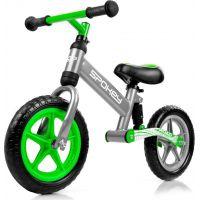 Spokey Off Road Dětské odrážedlo šedo-zelené