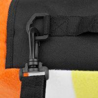 Spokey Picnic Rainbow Pikniková deka s popruhom 180 x 210 cm 3