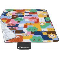 Spokey Picnic Toddler Pikniková deka s popruhom, orig. vzor 130 x 170 cm 2