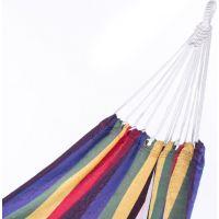 Spokey Samba Hojdacia sieť do 120 kg farebné pruhy 2