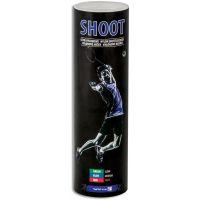 Spokey SHOOT BLUE Badmintonové loptičky 6ks nylonové