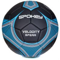 Spokey Velocity Spear Futbalová lopta veľkosť 5 žltomodrý