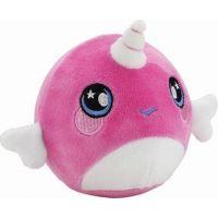 Squeezamals mäkké plyšové zvieratko 9 cm Jednorožec ružový