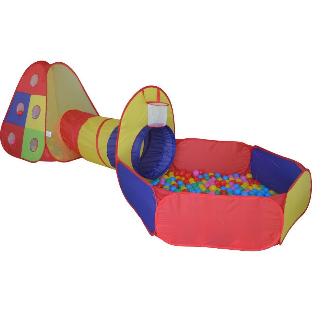 Stan s tunelom a loptičkami