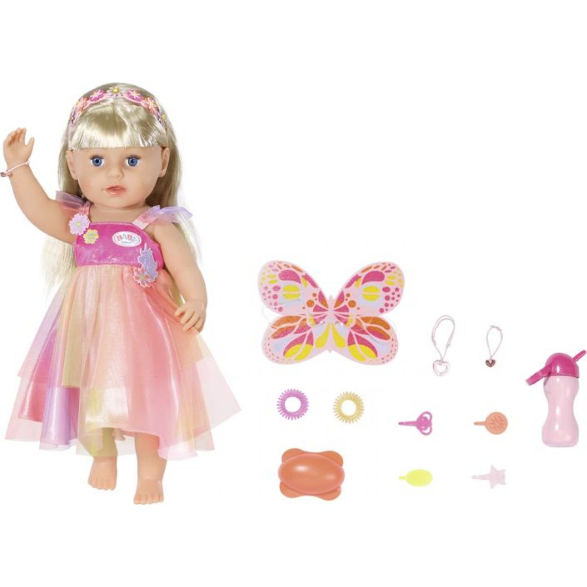 Staršie sestrička BABY born Soft Touch Jednorožec, 43 cm