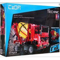 Stavebné stroje na diaľkové ovládanie 2 v 1 - Auto s rampou - Poškodený obal 2