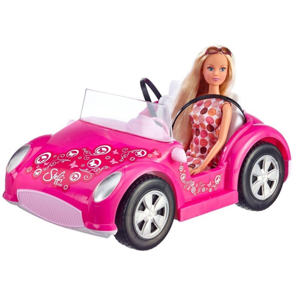 Steffi Love Girls Bábika v kabriolete