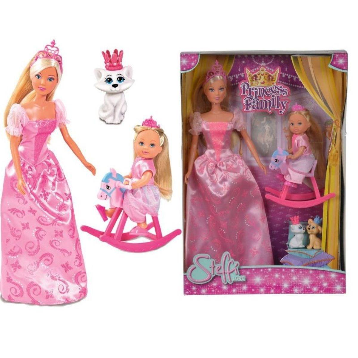 Steffi Love Bábika Princess Family