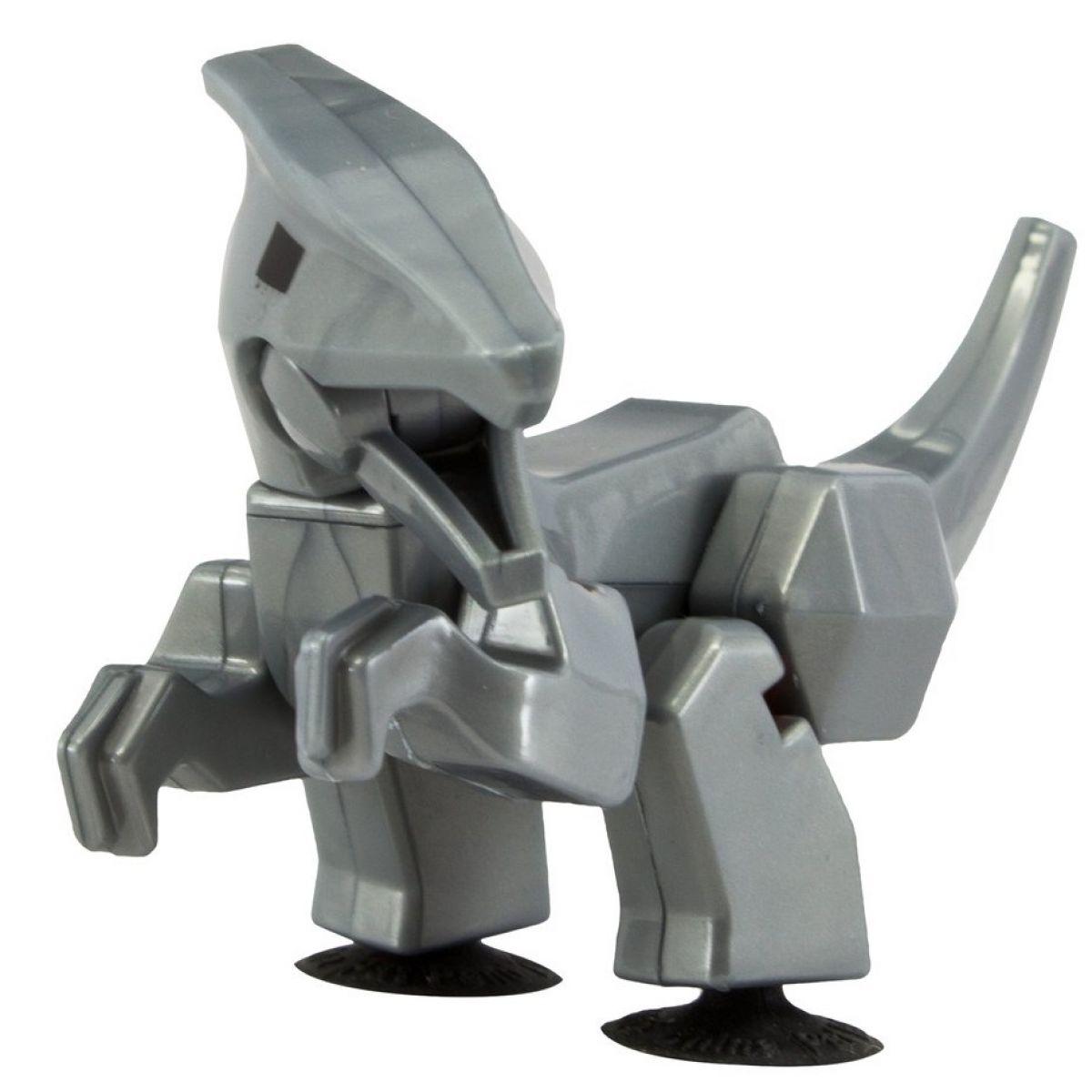 StikBot dino Parasaurolophus sivý