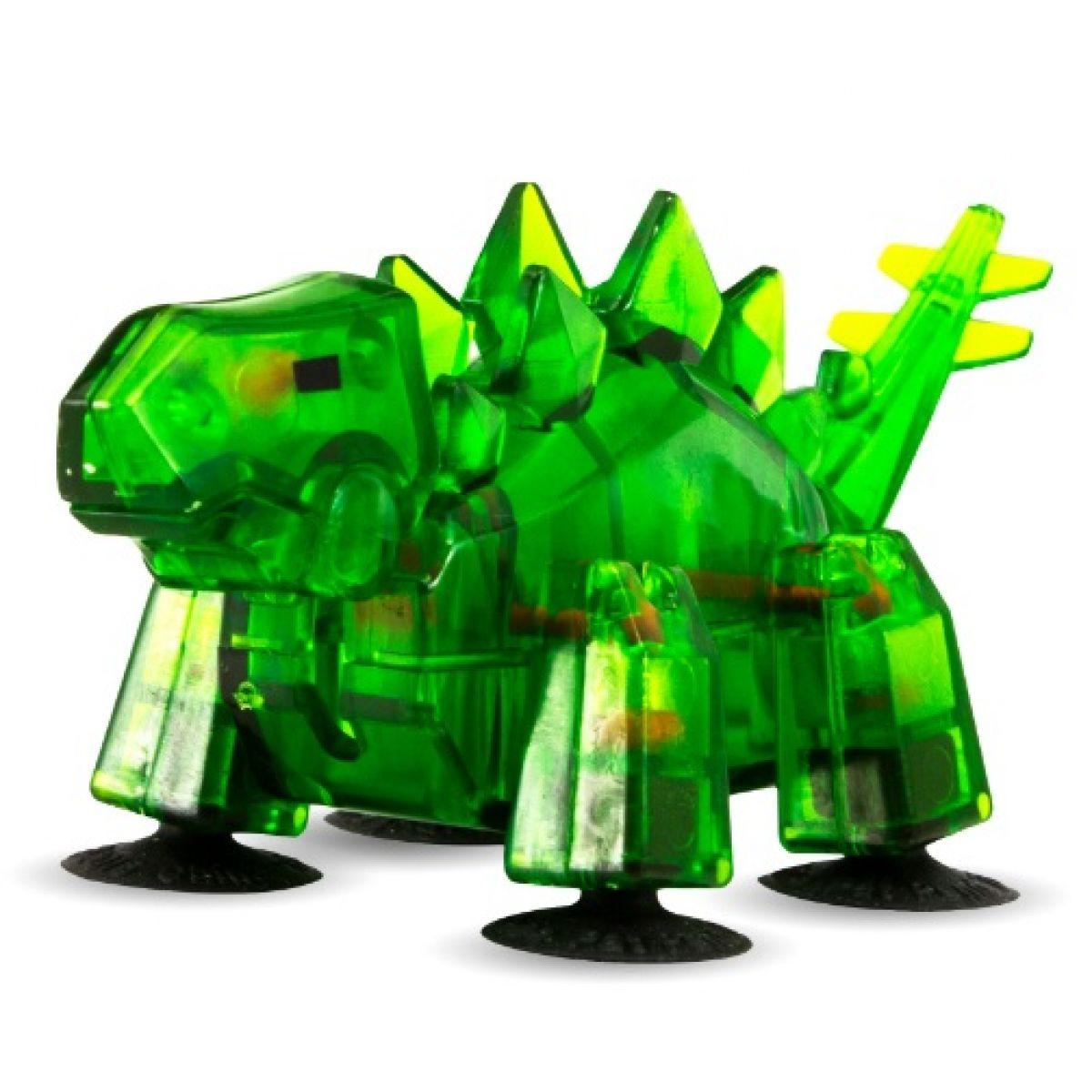 StikBot dino Stegosaurus tmavo zelený