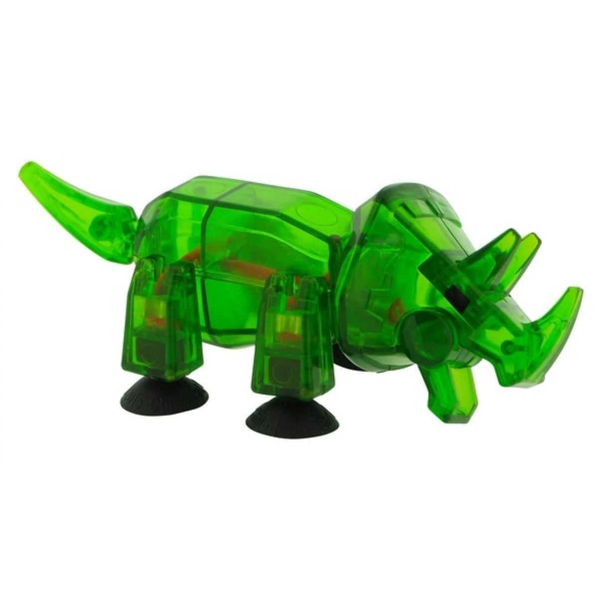 StikBot dino Triceratops tmavo zelený